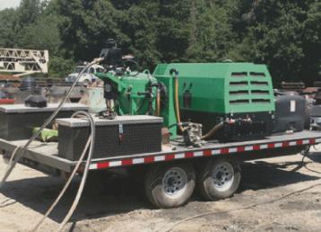 mobile-sandblasting-miami florida-green-sandblasting-truck
